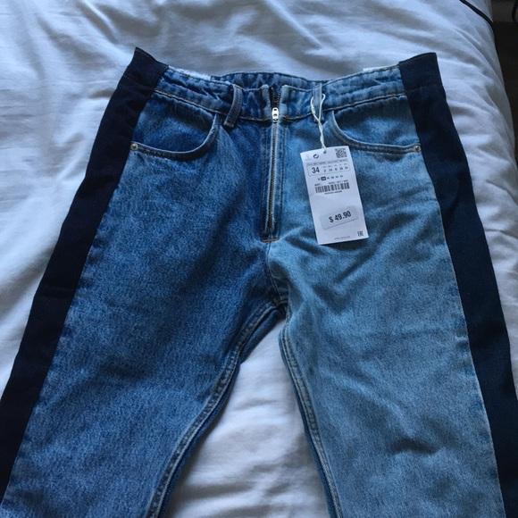 972f29b0 Zara Jeans   New Twotone Size 2   Poshmark